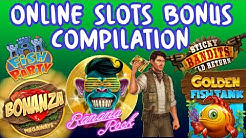 Online slots bonus compilation - Golden fish tank, book of dead, bonanza + more