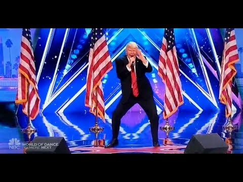 Donald Trump Dancing & Singing