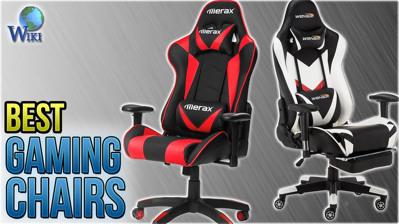 10 Best Gaming Chairs 2018