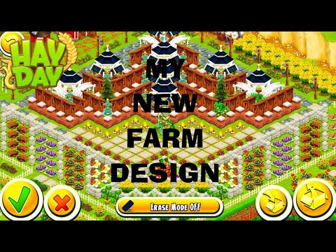 Hay Day My New Farm Design Youtube