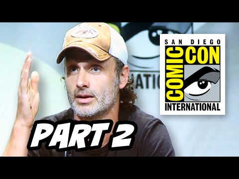 Walking Dead Season 6 Comic Con 2015 Panel - Part 2
