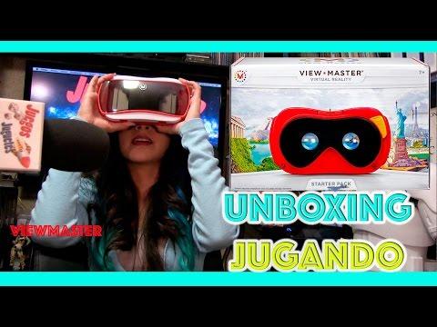 View Master Unboxing en español  ★ Juegos Juguetes y Coleccionables ★