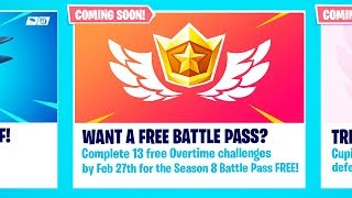 HOW TO GET SEASON 8 BATTLE PASS FREE!! FORTNITE v7.40 PATCH NOTES FORTNITE 2.02 PATCH NOTES PS4