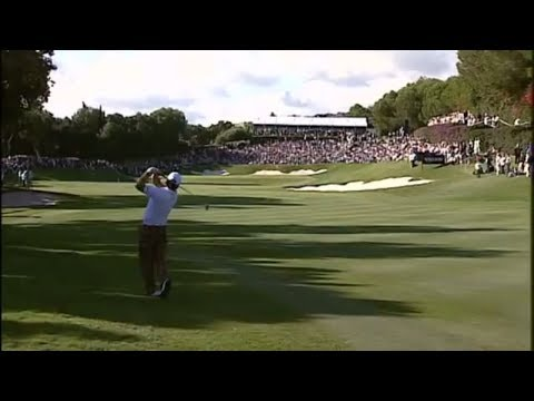 Graeme Mcdowell's greatest ever shot - Amazing albatross