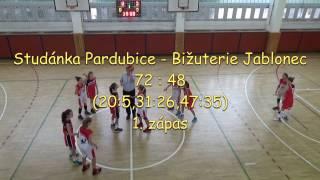 2016 1016 Basket U13 OP U13 Studánka - Jablonec 1.zápas