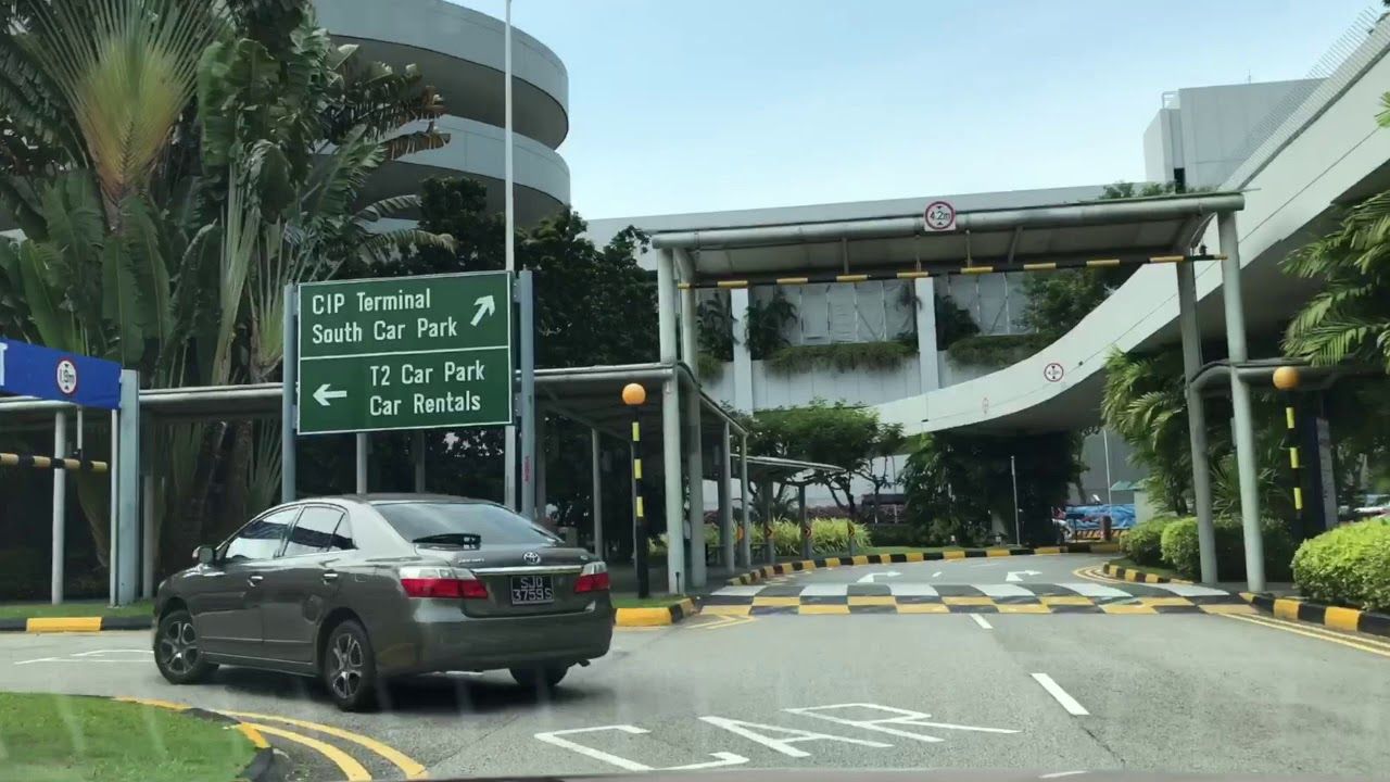 Changi Airport Terminal  Car Park