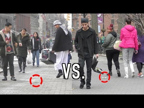 ARAB VS AMERICAN DROPPING MONEY (HONESTY EXPERIMENT)