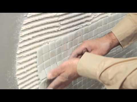 VIDREPUR GLASS MOSAICS - Tile Installation On A Bathroom Tutorial
