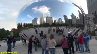 Cool Art in Chicago - Cloud Gate