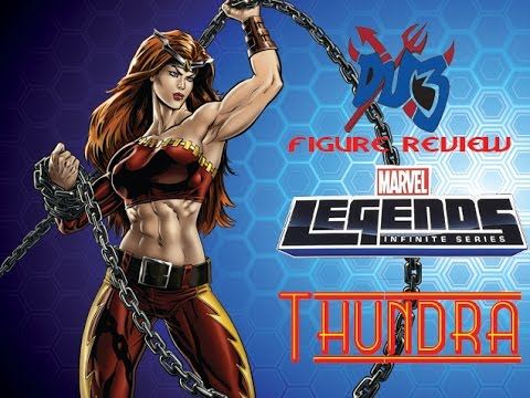 Action Figure Review: Hasbro Marvel Legends Infinite Series THUNDRA!!!!