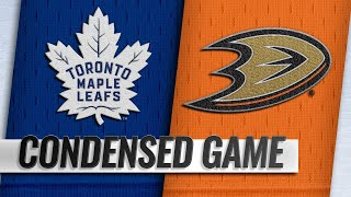 11/16/18 Condensed Game: Maple Leafs @ Ducks