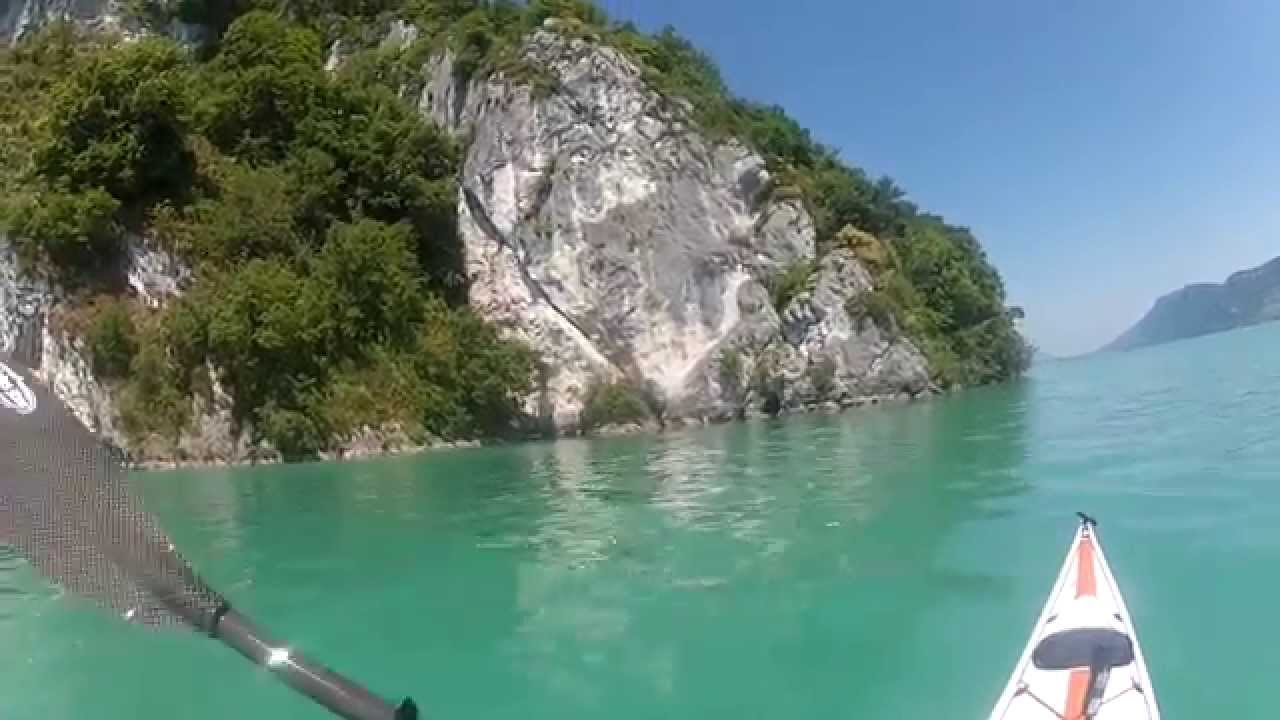 Kayak lac du bourget 13 juin 2014 youtube - Meteo bourget du lac ...