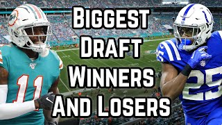 2020 Fantasy Football Advice – Biggest WINNERS and LOSERS after the NFL Draft