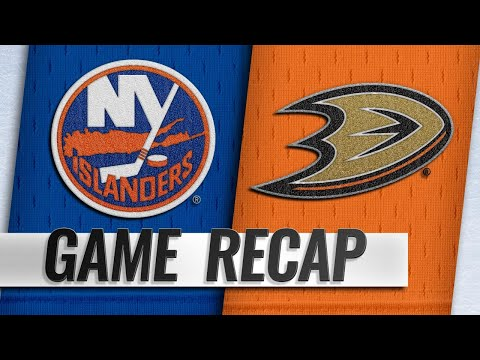 Kesler, Gibson power Ducks past Islanders