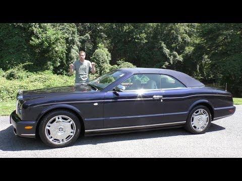 The 2007 Bentley Azure Has Lost $300,000 in Value Over 10 Years
