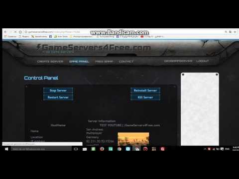 Rogor Gavaketot Samp Upaso Server Ll + Amx Chagdeba