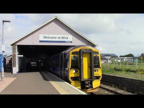 ScotRail Far North Line Georgemas Junction ⇒ Thurso & Wick 158 721