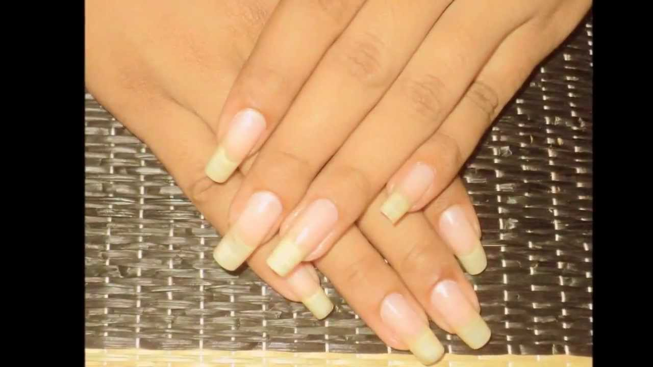 Tips for healthy natural nails, weekly nails care routine by ...