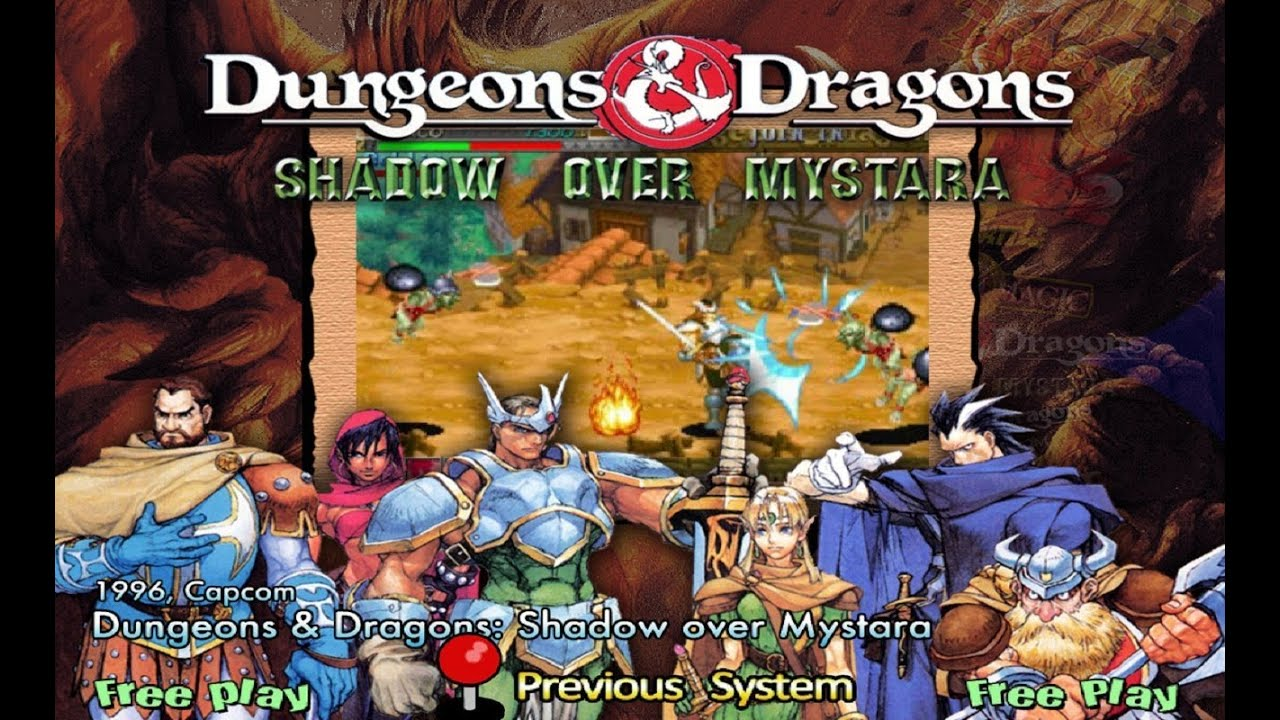 Dungeons Dragons Shadow Over Mystara Com Cheat Engine Plataforma Arcades Youtube