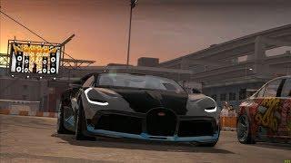 Need For Speed ProStreet: Bugatti Divo vs Ryo Watanabe's Evo X (Showdown King)