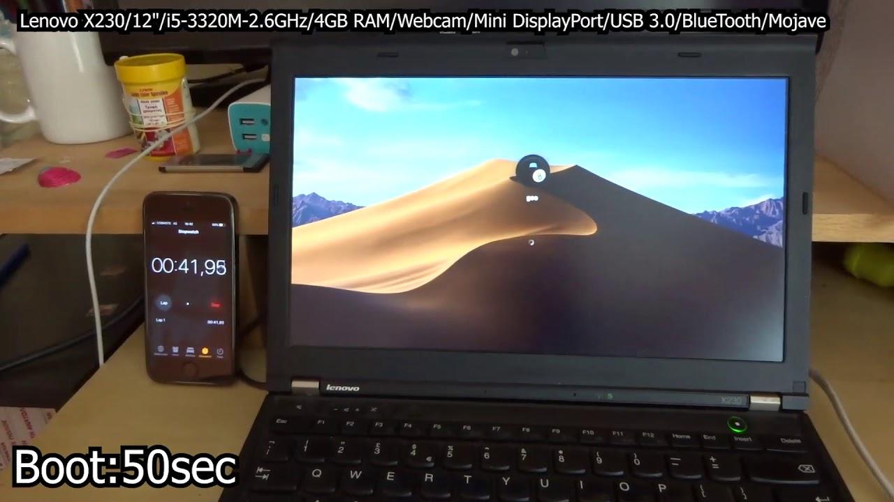 Mojave Hackintosh Lenovo X230 - MacBook / iMac - Insomnia gr