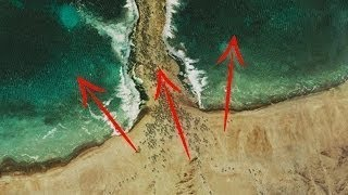 علماء يكتشفون سر معجزة النبي موسى كيف إنشق البحر الأحمر.. شاهد المفاجأة !!