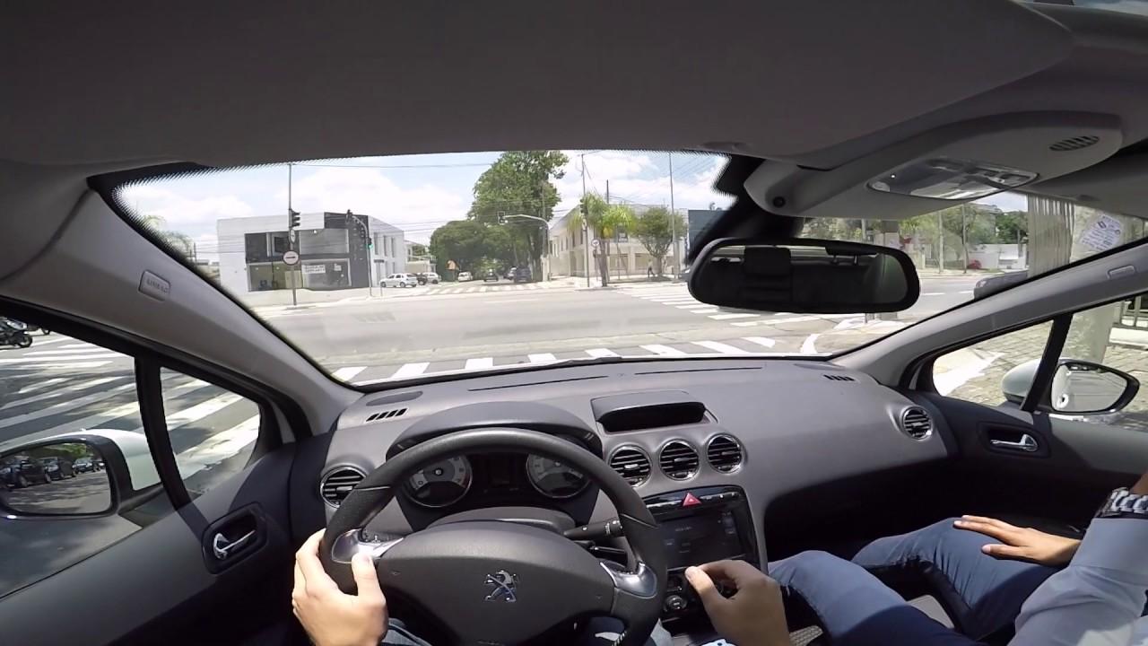Peugeot 308 1 6 Thp Turbo Test Drive Onboard Pov