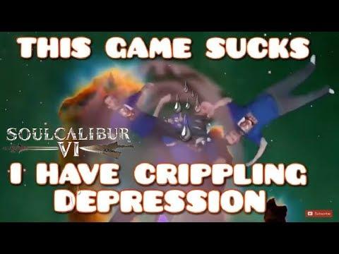 DSP Tries It: Being Depressed Super Salty Soul Calibur VI RAGE