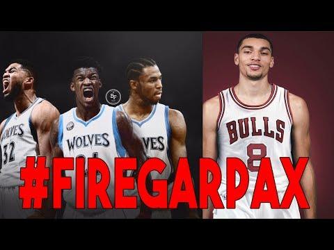 BULLS FAN REACT TO JIMMY BUTLER TRADE TO MINNESOTA #FireGarPax