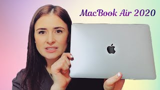 MacBook Air unboxing and firs impressions. Макбук 202 впечатления. Space gray.