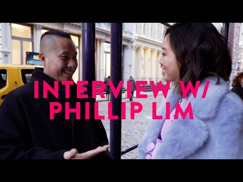 How Phillip Lim Became Successful  NYFW Day 6  Aimee Song