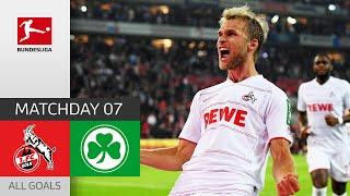 Match turned 1 FC Köln Greuther Fürth 3 1 All Goals Matchday 7 Bundesliga 2021 22