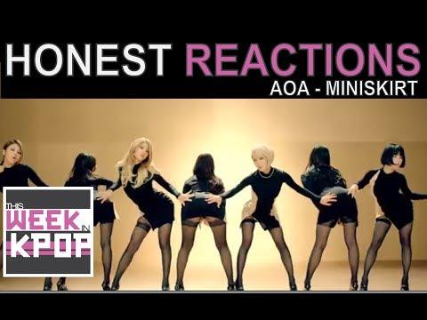 AOA - Miniskirt (짧은 치마) Reaction (Honest Kpop MV Reactions)