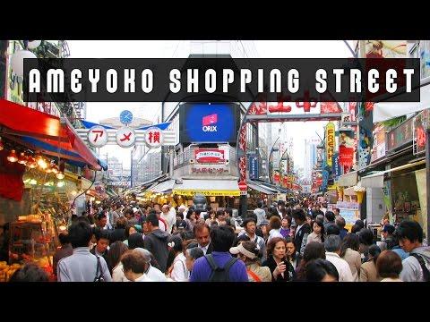 ☞ Ameyoko Shopping Street in Tokyo♥︎!上野アメ横 - Miranda Ibañez✧*。
