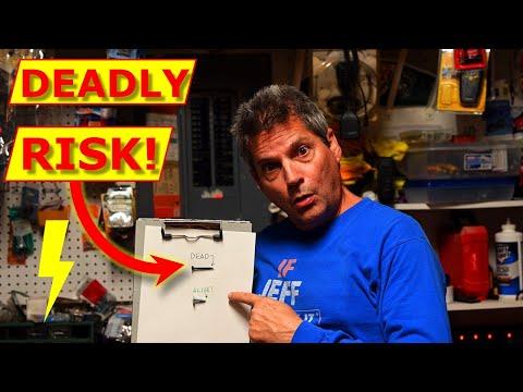 Electrical FAIL: Deadly Electric Panel DIY/Handyman Practice