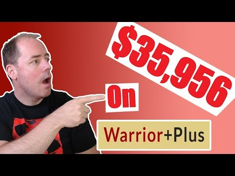 Warriorplus Affiliate Marketing Tutorial 2019 - How I Made $35,956 With NO WEBSITE! thumbnail