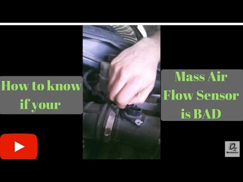 How to know if the mass air flow sensor is bad