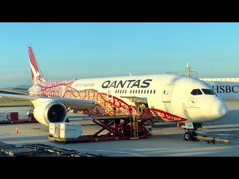 QANTAS 787 ECONOMY Class: QF98 Hong Kong To Brisbane