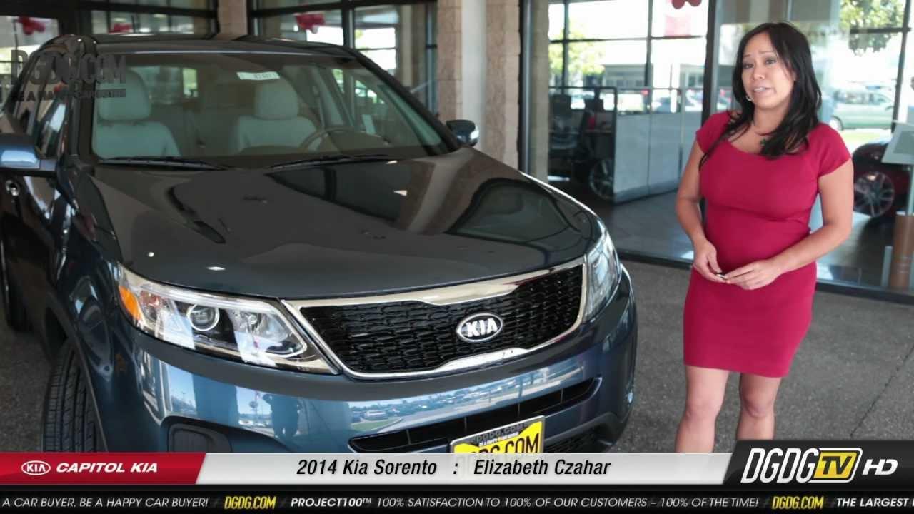Elegant 2014 Kia Sorento Review | Elizabeth Czahar | Capitol Kia | San Jose, CA    YouTube