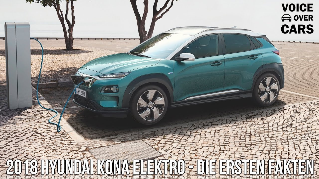 2018 hyundai kona elektro electric der elektrisch. Black Bedroom Furniture Sets. Home Design Ideas