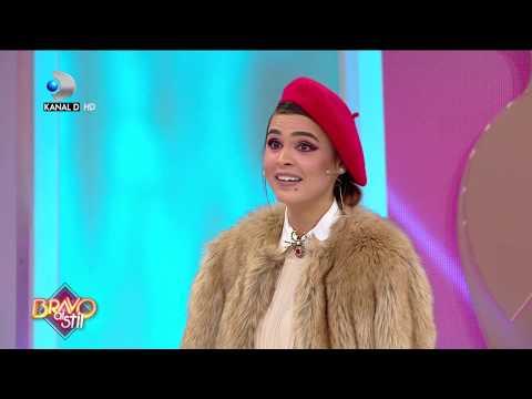 """Bravo, ai stil! (03.01.2019) - Alina, despre unele colege: """"Nu au ce cauta in concurs!"""""""