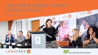 GHHI Utica-Oneida Compact Signing Event