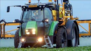 Special Deutz-Fahr Agrotron K-420 / Dubex Tractor Sprayer- Nouws Achtmaal