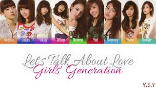 Girls' Generation - Let's Talk About Love