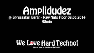 Amplidudez @ Spreesafari - Raw Nuts Floor 08.03.2014 - Alte Münze Berlin