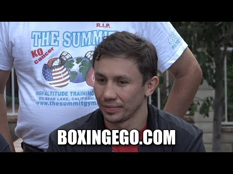 GENNADY GOLOVKIN DAZN DEAL CLOSE TO FINAL -BOXINGEGO
