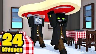 24 STUNDEN ARBEITEN im STEAKHAUS?! - Minecraft [Deutsch/HD]