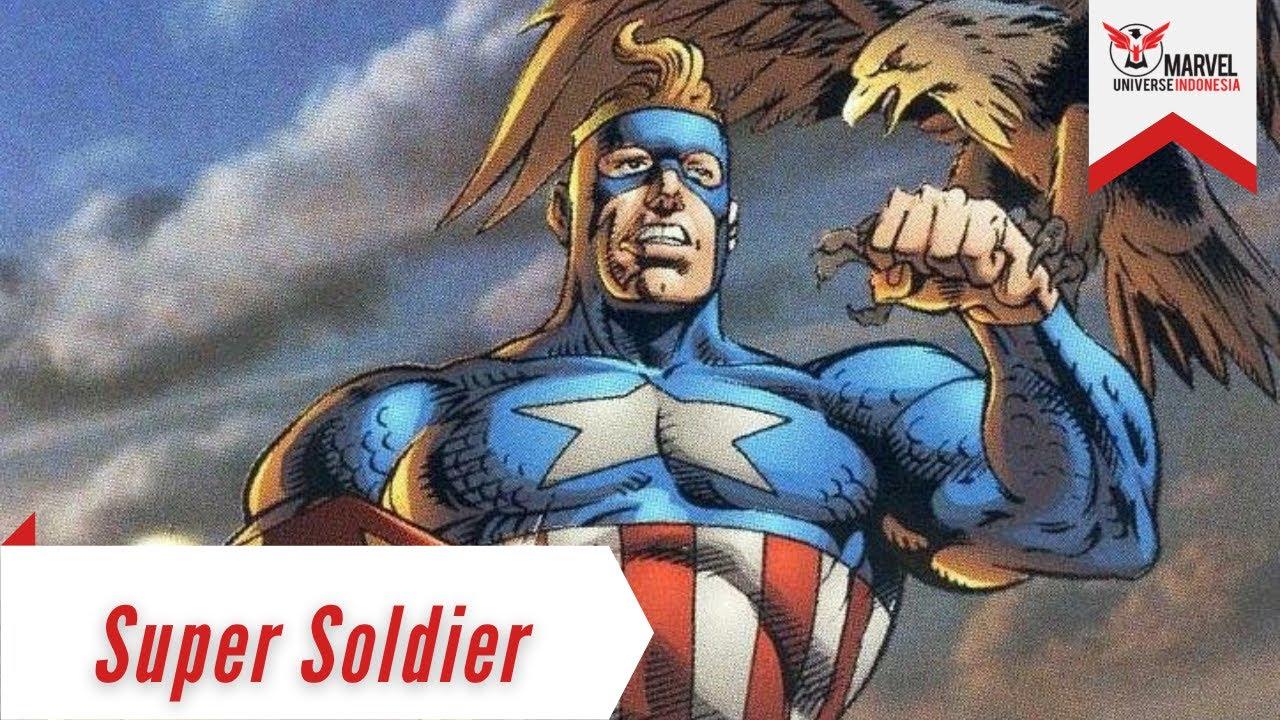 Gabungan Captain America dan Superman | Super Soldier (Clark Kent) | Amalgam Universe