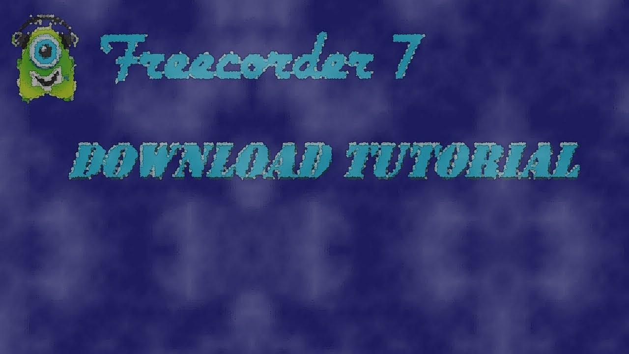 Programmtip freecorder toolbar youtube.
