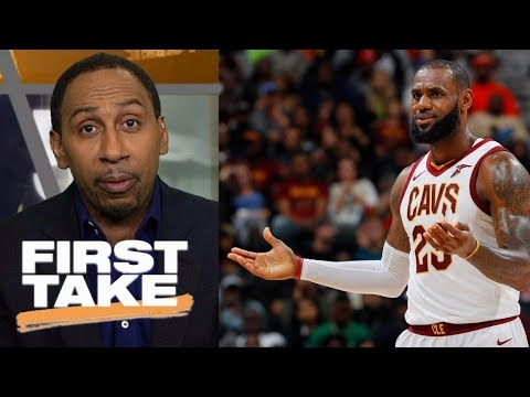 Stephen A. Smith says Cavaliers don't pose a threat to Warriors right now   First Take   ESPN